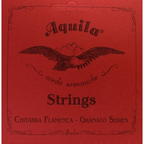 Aquila 135C Granato Flamencogitarre - superior tension