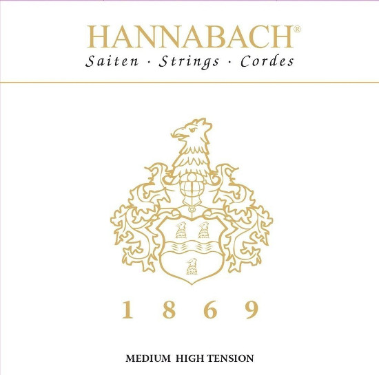 Hannabach1869MHT - Jubiläumssatz Konzertgitarre, medium/high tension