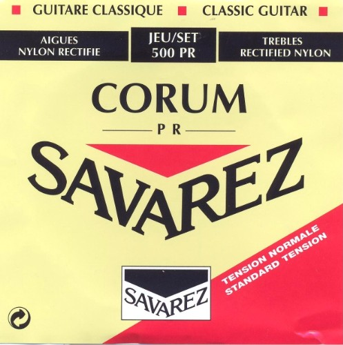 Savarez 500 PR New Cristal Corum Konzertgitarre, normal tension