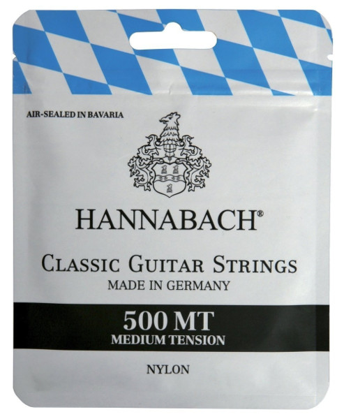 Hannabach 500 MT Konzertgitarre, medium tension