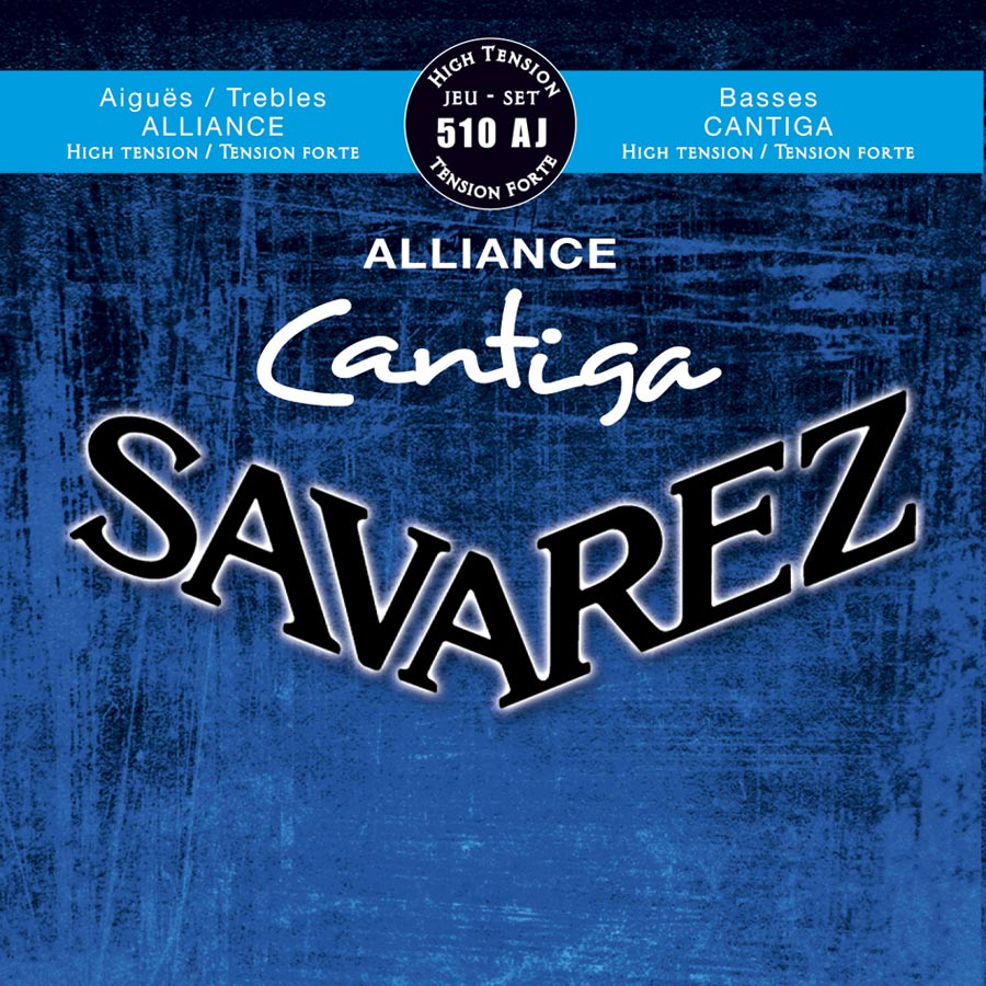 Savarez 510 AJ Alliance Cantiga Konzertgitarre, high tension