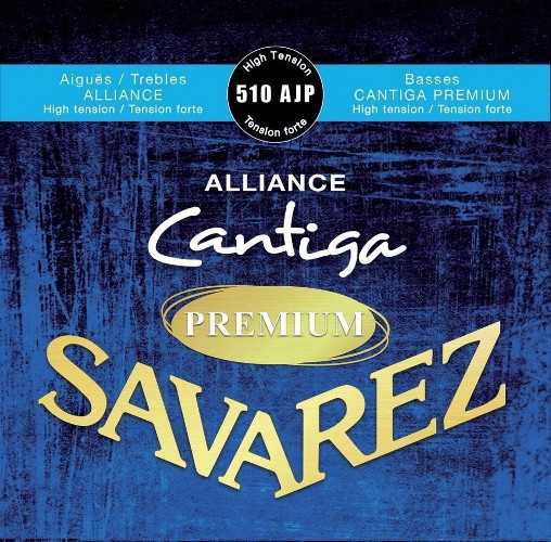 Savarez 510 AJP Alliance Cantiga Premium Konzertgitarre, high tension