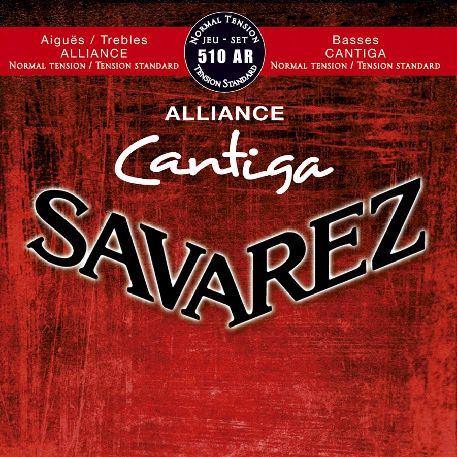Savarez 510 AR Alliance Cantiga Konzertgitarre, normal tension