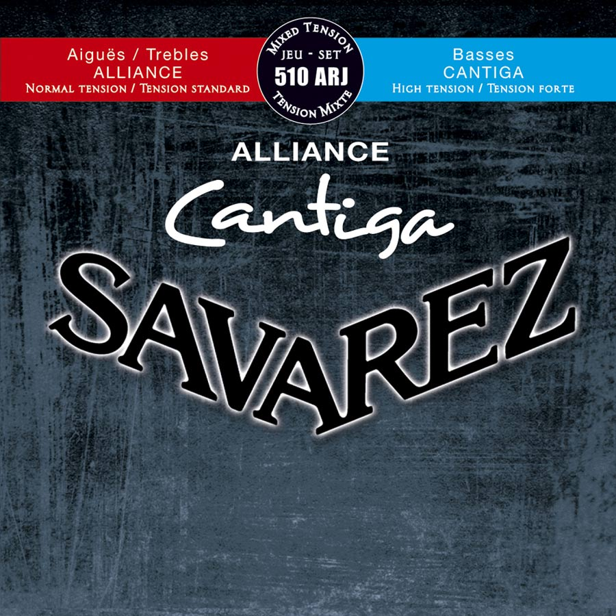 Savarez 510 ARJ Alliance Cantiga Konzertgitarre, normal/high tension