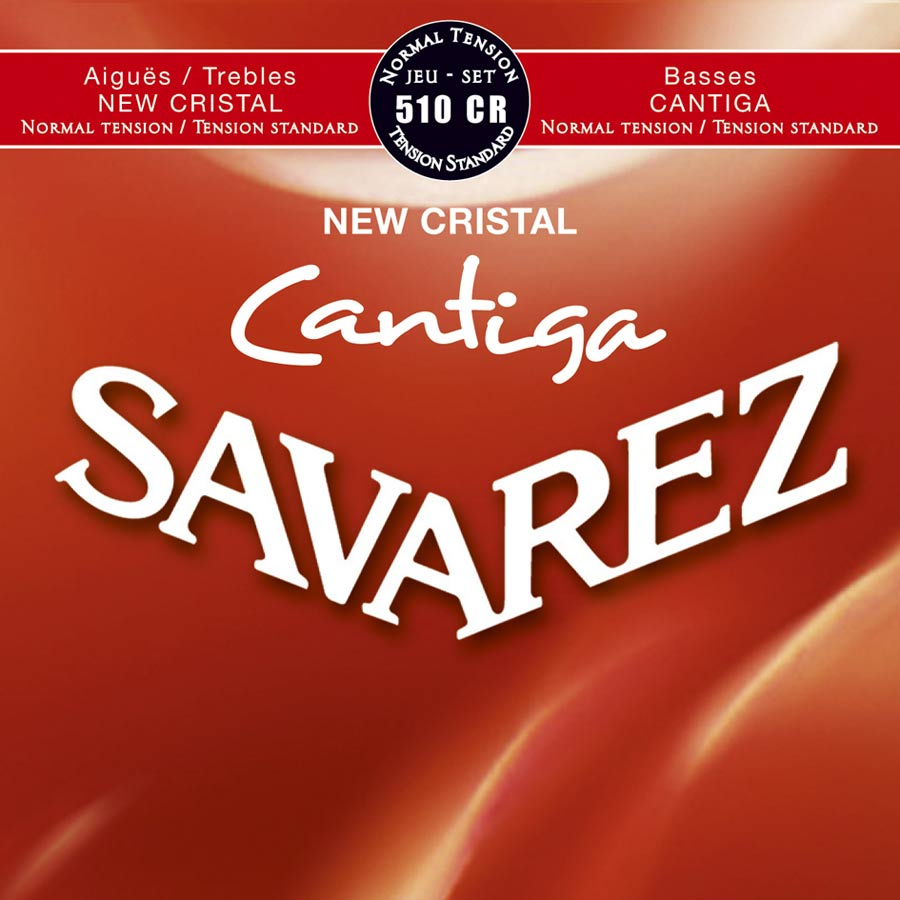 Savarez 510 CR New Cristal Cantiga Konzertgitarre, normal tension