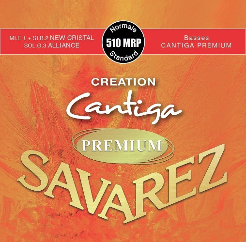 Savarez 510 MRP Alliance/New Cristal Cantiga Konzertgitarre, medium tension