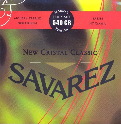 Savarez 540 CR New Cristal classic Konzertgitarre, normal tension