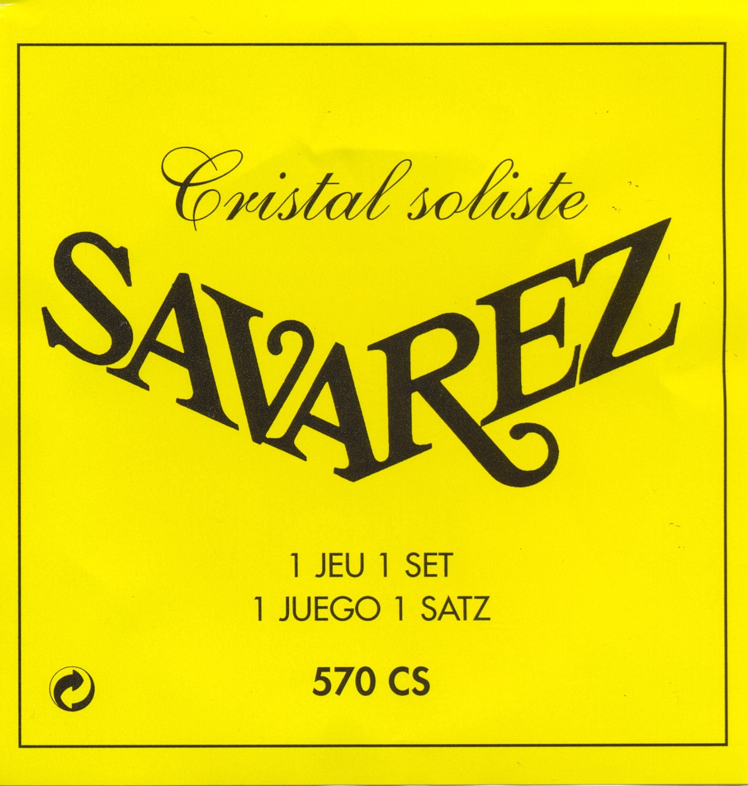 Savarez 570 CS cristal soliste Konzertgitarre, extra high tension