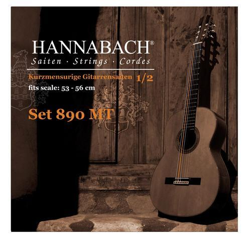 Hannabach 890 Kindergitarrensaiten 1/2 Gitarre (53-56 cm) - medium