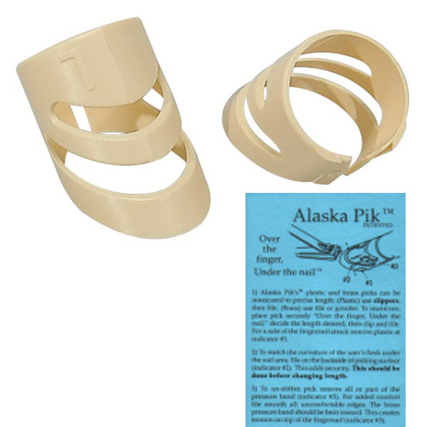 Alaska Fingerpiks Kunststoff - medium