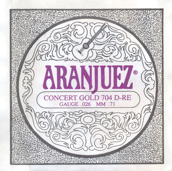 Aranjuez 704 - d4 Konzertgitarre, low tension