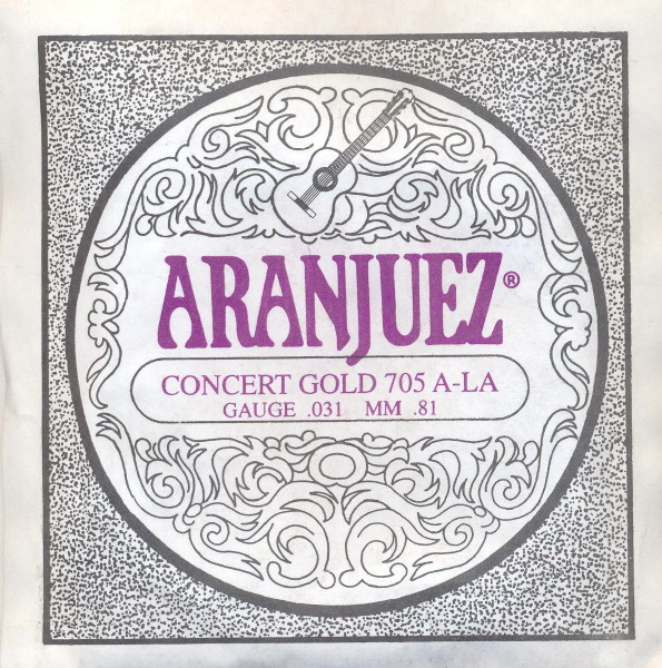 Aranjuez 705 - A5 Konzertgitarre, low tension