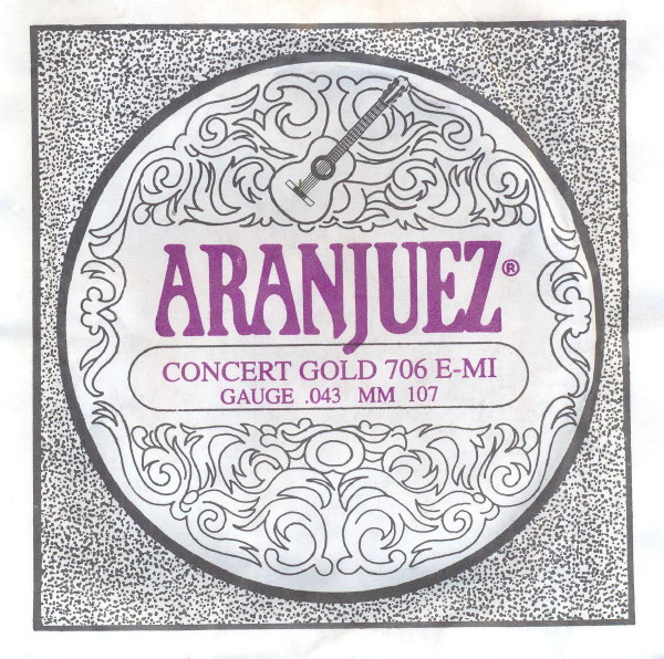 Aranjuez 706 - E6 Konzertgitarre, low tension