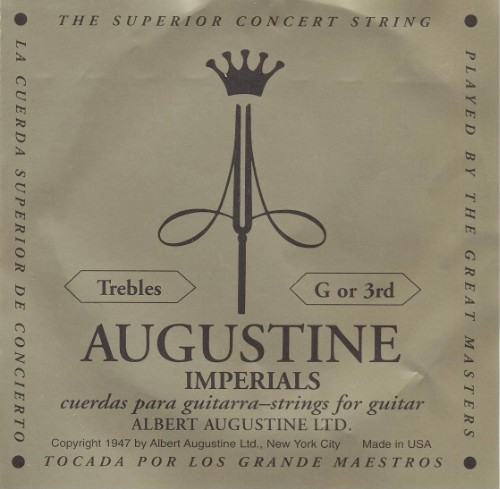 Augustine Imperial - g3 Konzertgitarre - medium tension