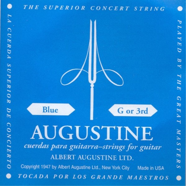 Augustine blue - g3 Konzertgitarre, high