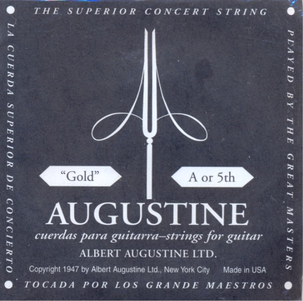 Augustine gold - A5 Konzertgitarre, low