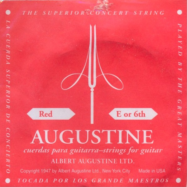Augustine red - E6 Konzertgitarre, medium