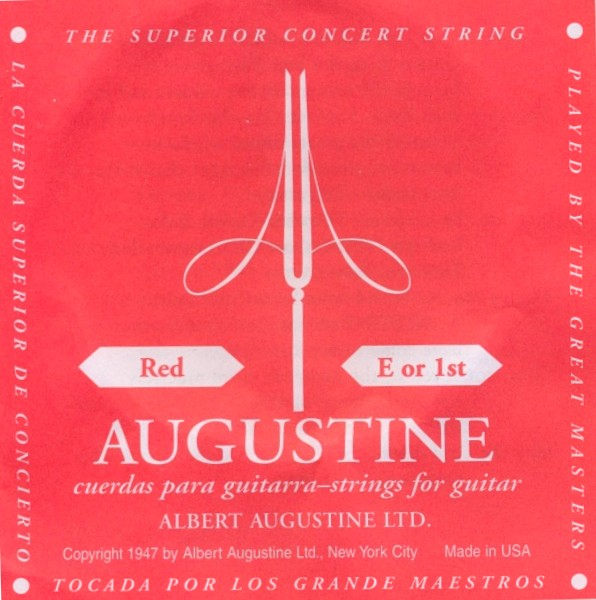 Augustine red - e1 Konzertgitarre, medium