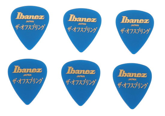 Ibanez The Offspring Signature 1,0 mm - blau - 6 Stück