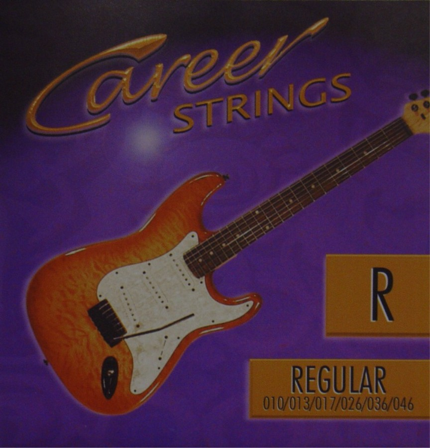 Career electric strinx R E-Gitarre, regular (010 - 046)