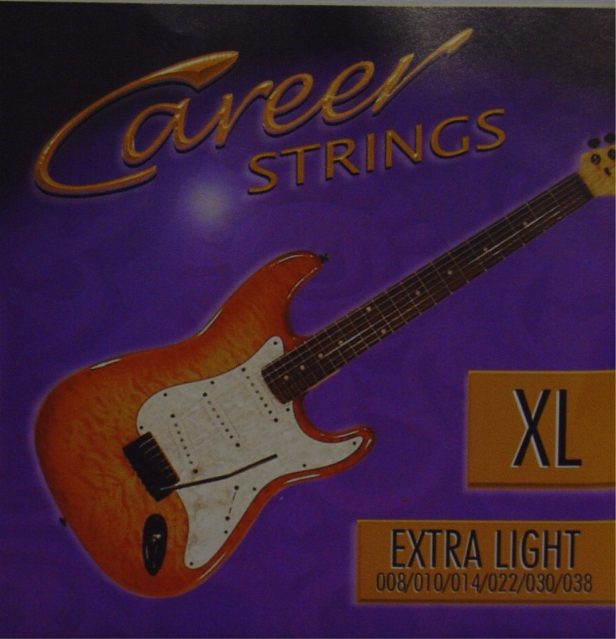 Career Electric Strinx XL E-Gitarre, extra light (008 - 038)