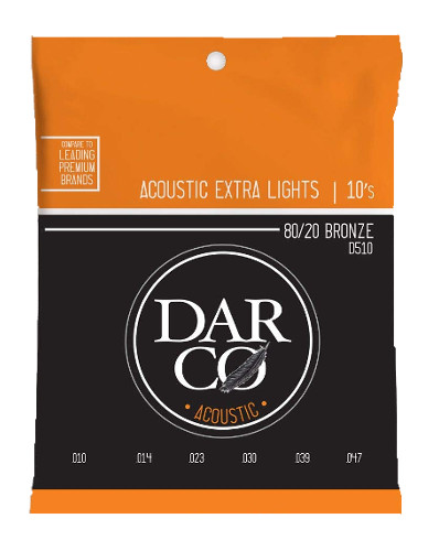 Darco by Martin D510 Westerngitarre, extra light (010-047)