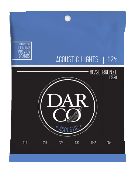 Darco by Martin D520 Westerngitarre, light (012-054)