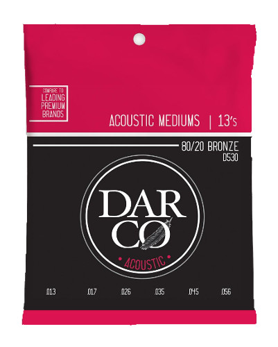 Darco by Martin D530 Westerngitarre, medium (013-054´6)