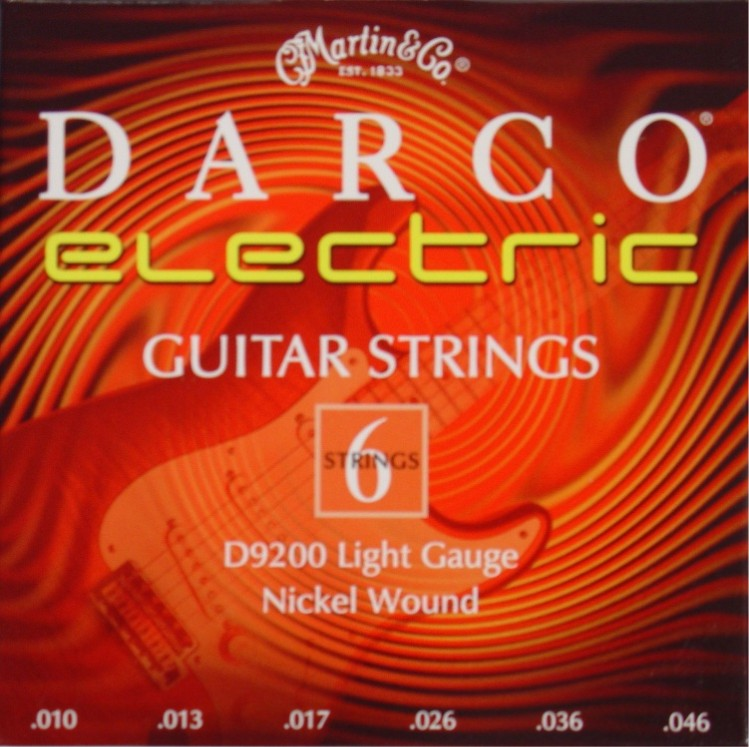 Darco by Martin D9200 E-Gitarre, light (010 - 046)