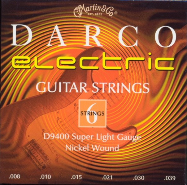 Darco by Martin D9400 E-Gitarre, super light (008-039)