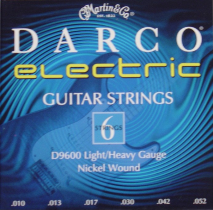Darco by Martin D9600 E-Gitarre, light/heavy (010 - 052)