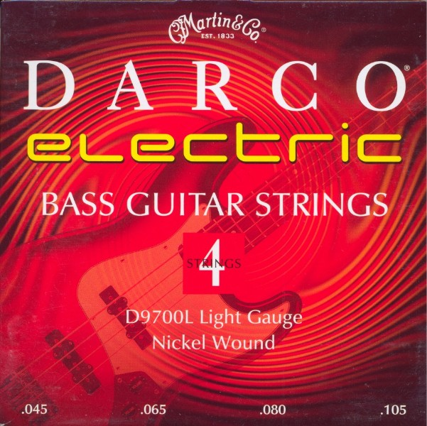 Darco by Martin D9700L E-Bass - light (045-105)