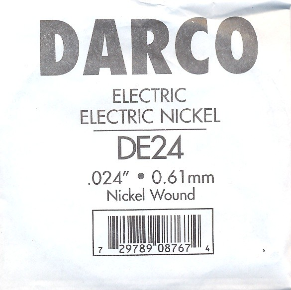 Darco by Martin DE24 E-Gitarre - Nickel wound - 024