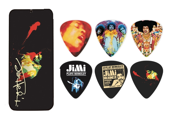 Dunlop Jimi Hendrix Collector Picks - 12 Stück Band of Gypsys - heavy - PTR04H