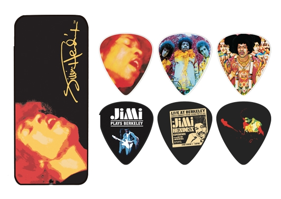 Dunlop Jimi Hendrix Collector Picks - 12 Stück Electric Ladyland - heavy - PTR03H