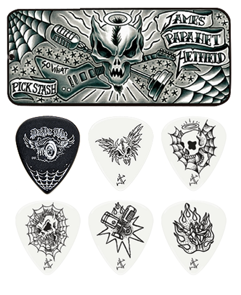 Dunlop James Hetfield Signature Picks - 6 Stück JPH01T.88 - 0,88 mm