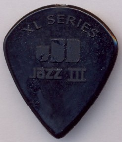 Dunlop Nylon Jazz III XL - 47 black stiffo Nylon - 1,38 mm - sharp/XL