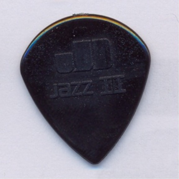 Dunlop Nylon Jazz III - 47 black stiffo Nylon - 1,38 mm - sharp