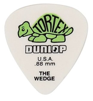 Dunlop Tortex Wedge Players 424 0,88 mm - grün