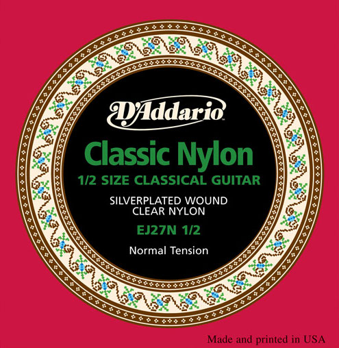 D´Addario EJ27N-1/2 1/2-Gitarre, normal tension