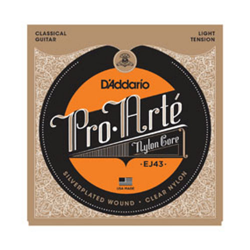D´Addario EJ43 Konzertgitarre, light tension