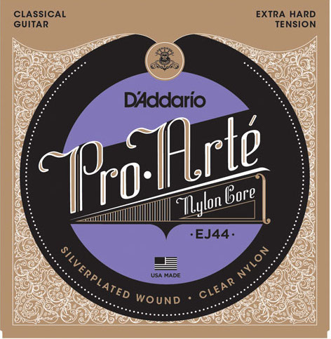 D´Addario EJ44 Konzertgitarre, extra hard tension