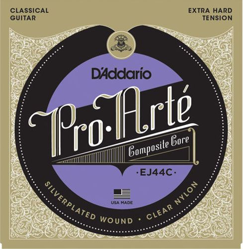D´Addario EJ44C Composite Konzertgitarre, extra hard tension