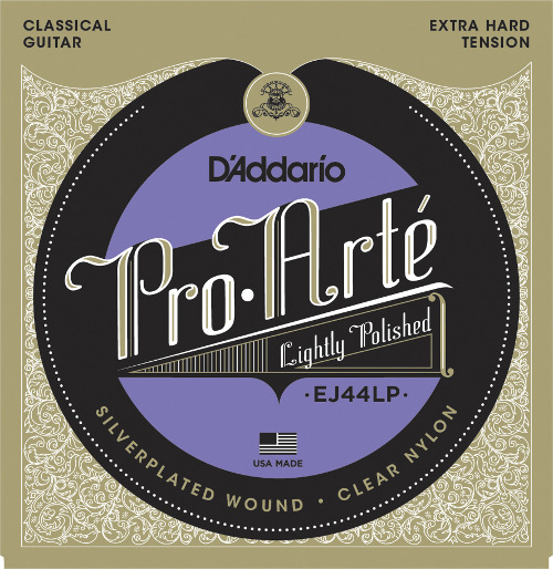 D´Addario EJ44LP light polished Konzertgitarre, extra hard tension