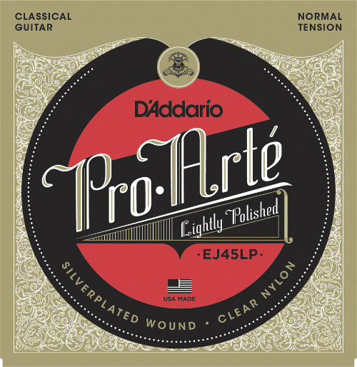 D´Addario EJ45LP light polished Konzertgitarre, normal tension