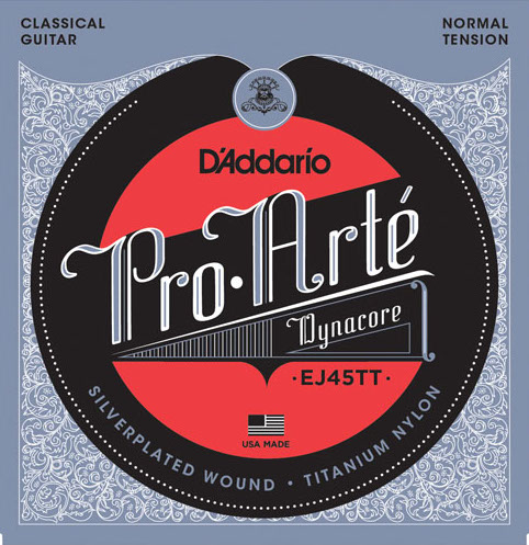 D´Addario EJ45TT Dynacore Konzertgitarre, normal tension
