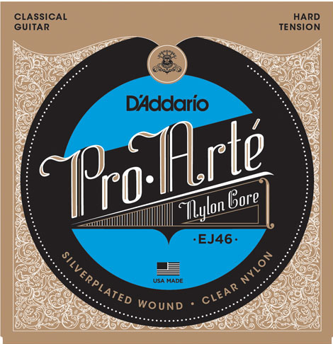 D´Addario EJ46 Konzertgitarre, hard tension