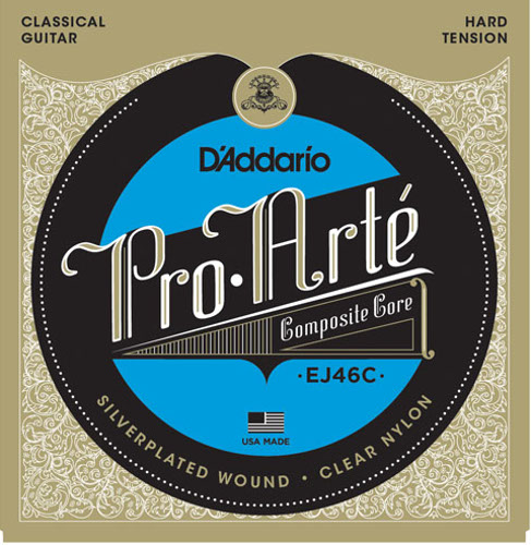 D´Addario EJ46C Composite Konzertgitarre, hard tension
