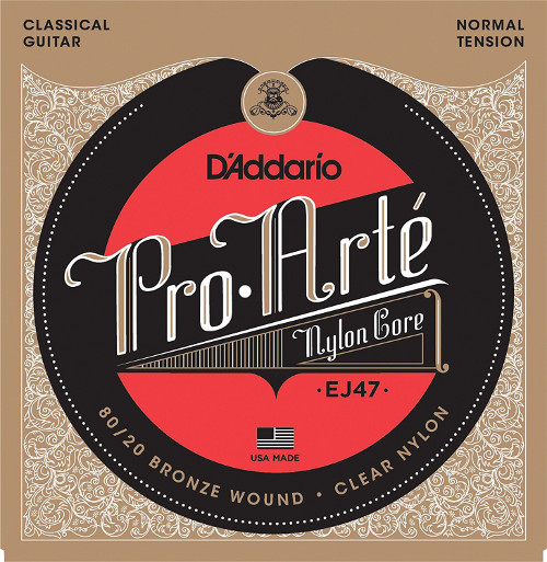 D´Addario EJ47 Gold Konzertgitarre, normal tension