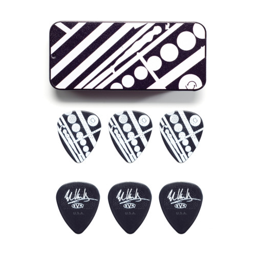 Dunlop Eddie van Halen Collector Picks - 6 Stück Circle - 0,60 mm - EVH PT05